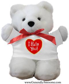 Bitter Valentineu0027s Day Bears!  Photos   GENERALLY AWESOME    Www.GenerallyAwesome.com