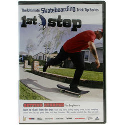 411 First Step DVD instructional skateboard video