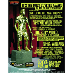 Thrasher Magazine Skater of The Year DVD skateboarding video