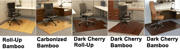Bamboo Office Chair Mats Hardwood Mats By Anji Mountain Bamboo