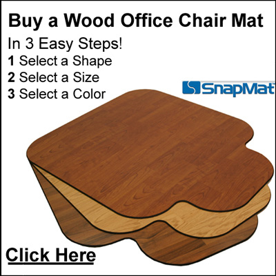 Office Chair Mats for $148.75 - buy a Luxury Wood Chair Mat ...