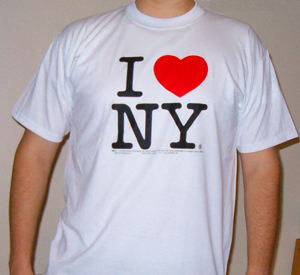 NEw York City and State are honored by this design.  Show so love!