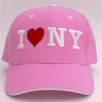 Hats with New York City love on them are great for a gift or present.